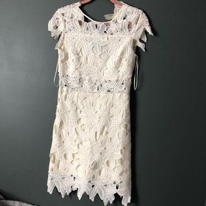 Romeo & Juliet White Lace Dress